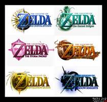 Re-upload: Zelda Logo Set I by AzureParagon