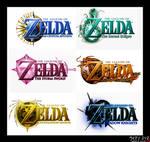 Re-upload: Zelda Logo Set I