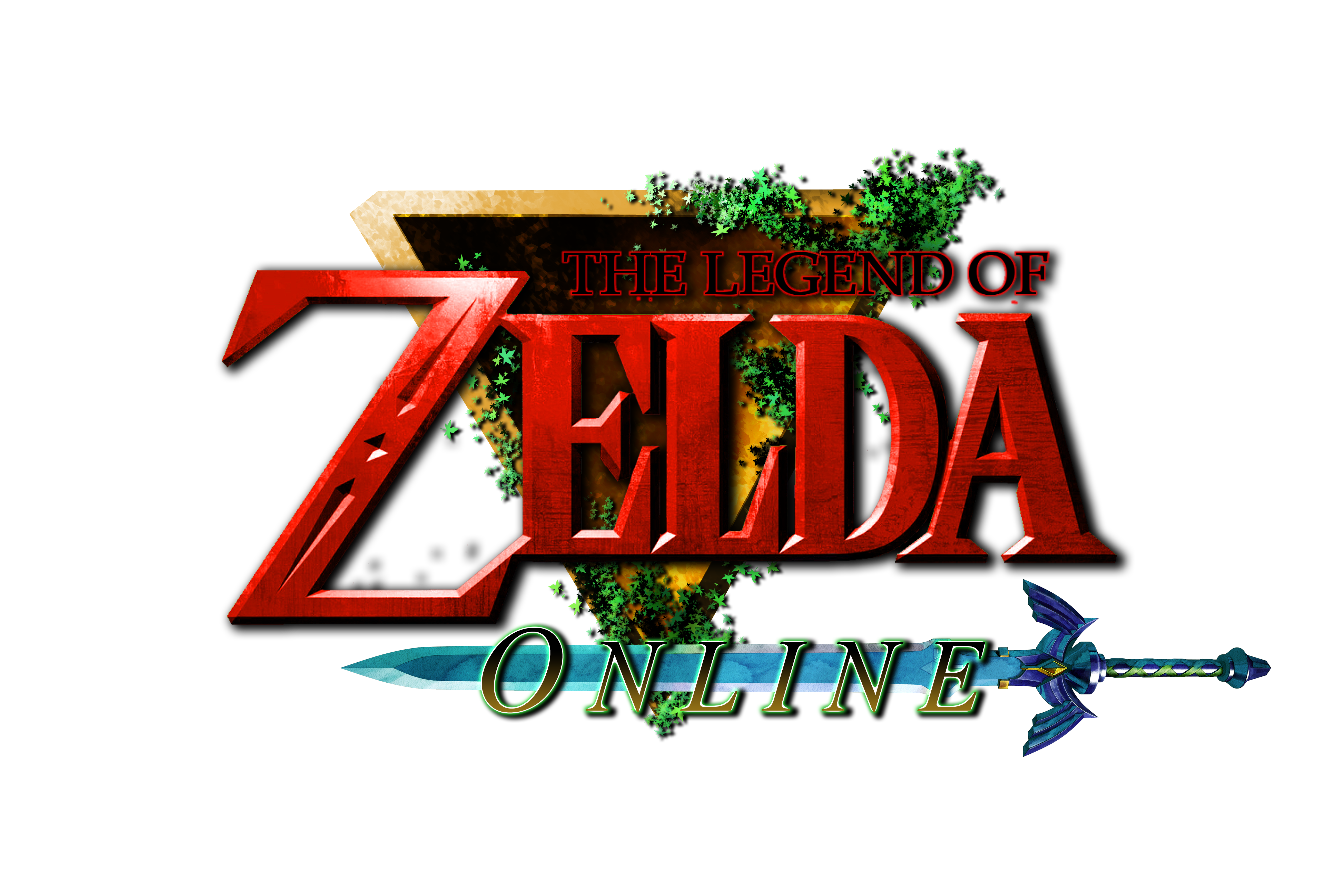 The Legend of Zelda ONLINE Logo by AzureParagon on DeviantArt