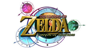 Zelda: Canyon of Albatross Logo (White BG) by AzureParagon
