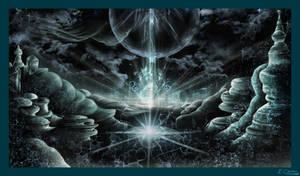 Cyren Crystalscape by AzureParagon