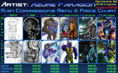 MAIN Commissions Design by AzureParagon
