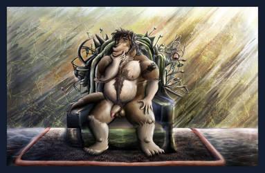 Zhao Sitting by AzureParagon