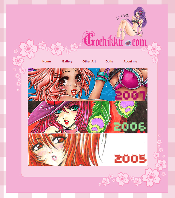 Gochikku.com interfaces by chon-chan