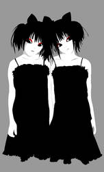 gothic twin by chon-chan