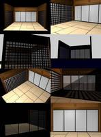 Door scene by chon-chan