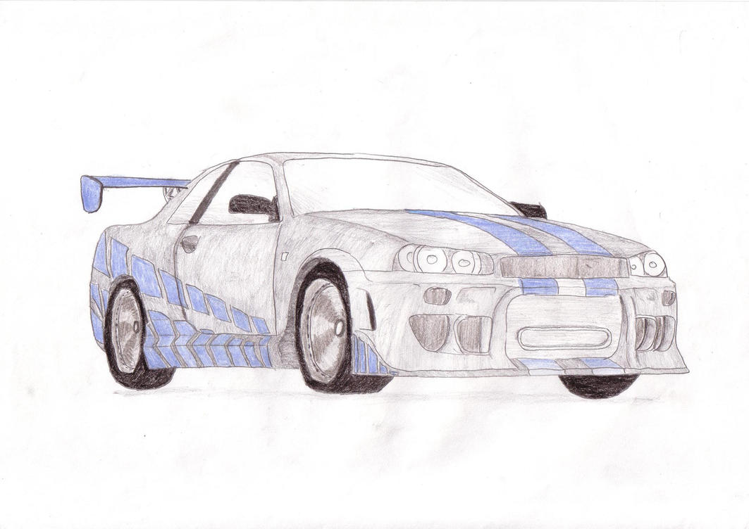 Contemporary Drawings Of Fast And Furious Cars Elaboration - Diagram ...