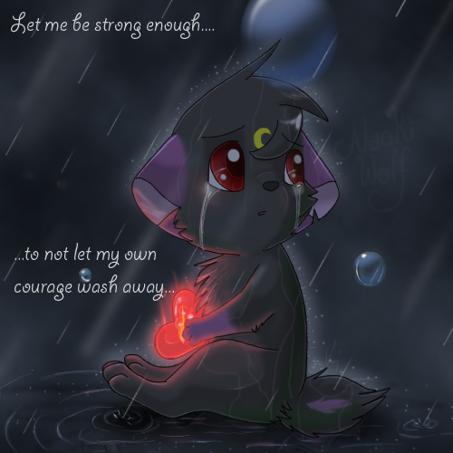 Let Me Be Strong Enough... by Naoki-Wolf