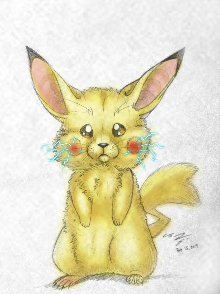 Pikachu by Naoki-Wolf
