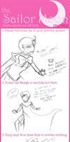 Sailor Meme by AggressiveArtist