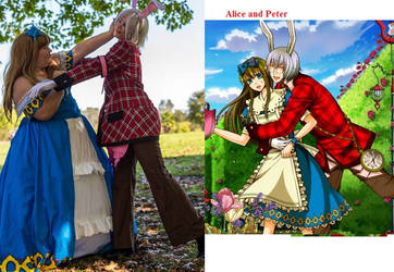 Alice and Peter at Norcal Fall Gathering 2013 by LuluuxDuplica1223