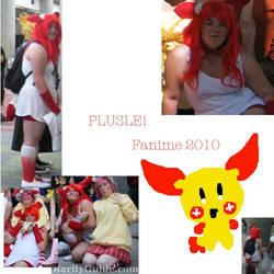 Flashback: Plusle From Pokemon