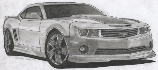 Chevy Camaro Chroma Concept By On Deviantart