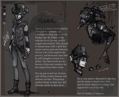 TOXXIC-ref sheet by KlownCat