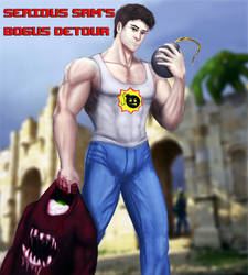 Serious Sam's Bogus Detour by Nikc75