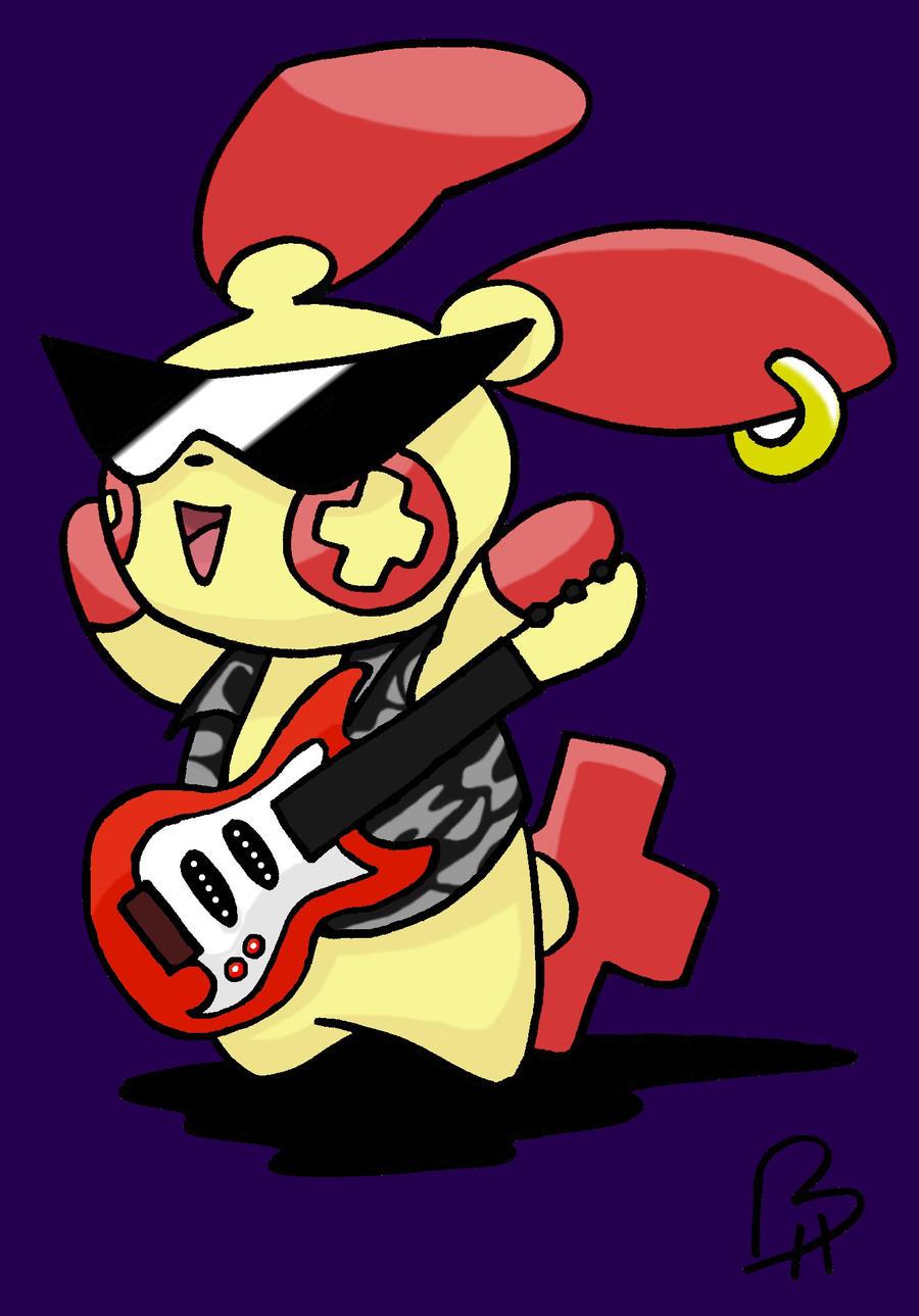 Rock star plusle by ninjjambbong on deviantart for Milsuite