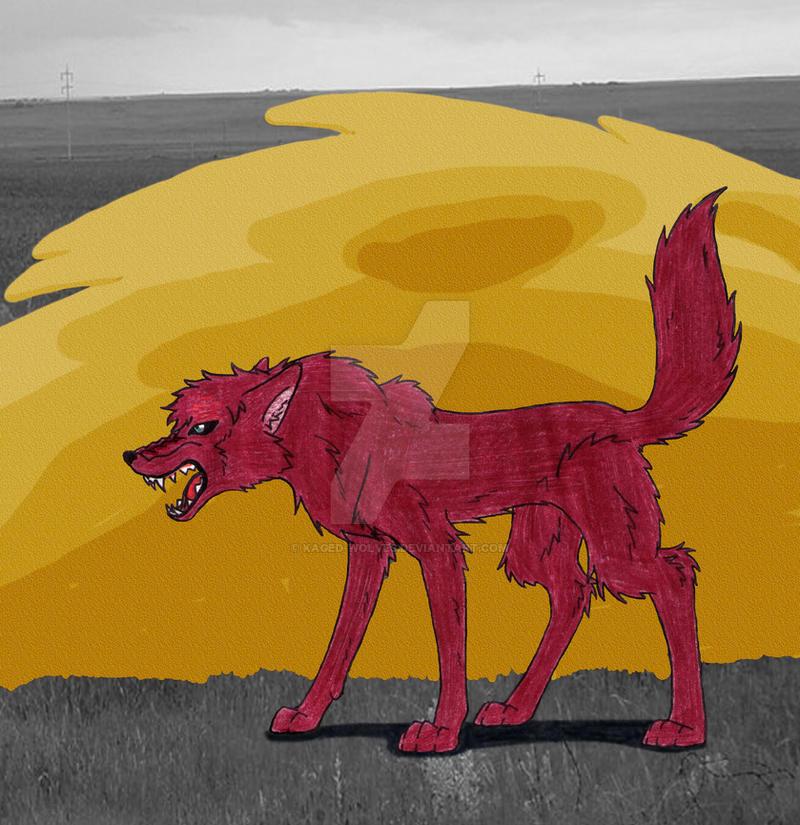 Gaara Wolf by Kaged-Wolves on DeviantArt Gaara As A Wolf