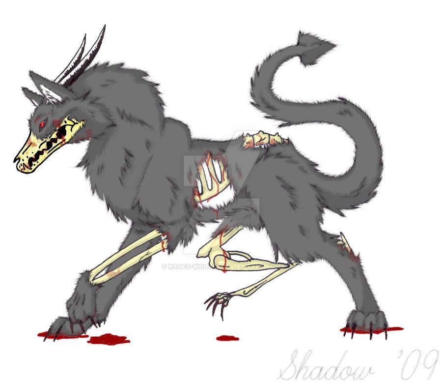 hell wolf by vampireassassin1444 - photo #5