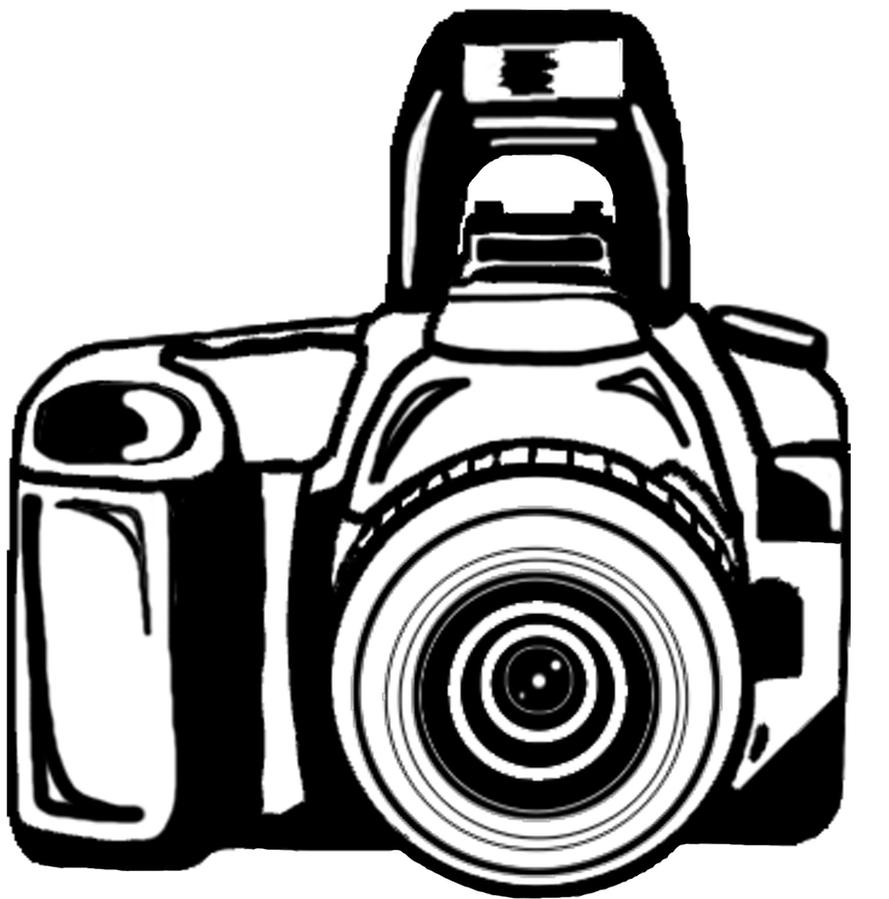 Camera clipart by BunnyJosephine