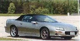 [1998] Chevrolet Camaro Convertible (Customized) by DODGE-RAMMIT