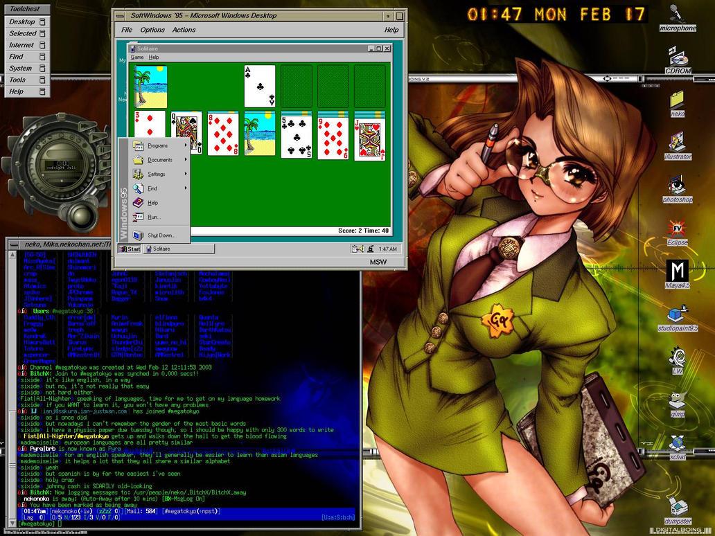IRIX64 SoftWindows by nekonoko