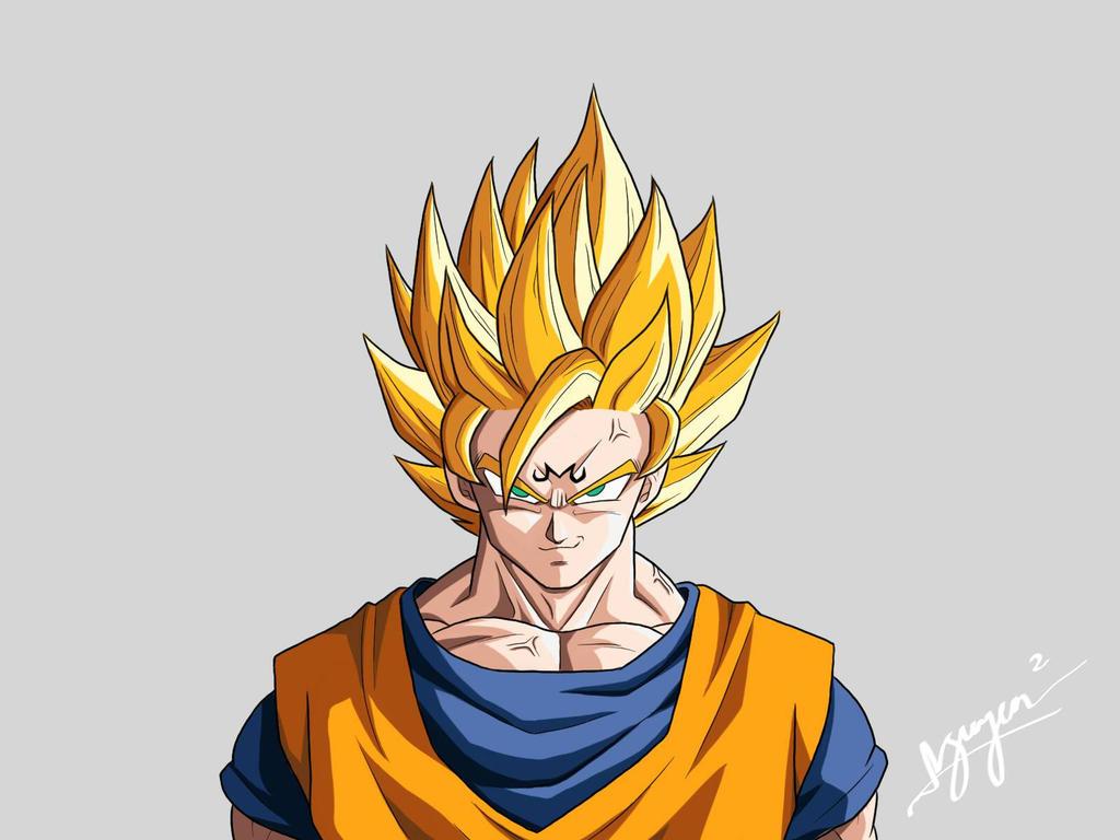 Majin Goku by nguyen619 on DeviantArt