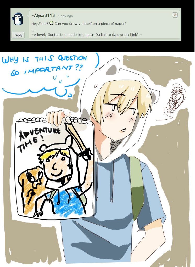 Q25 - My Drawing Sux by Ask-Awesome-Finn