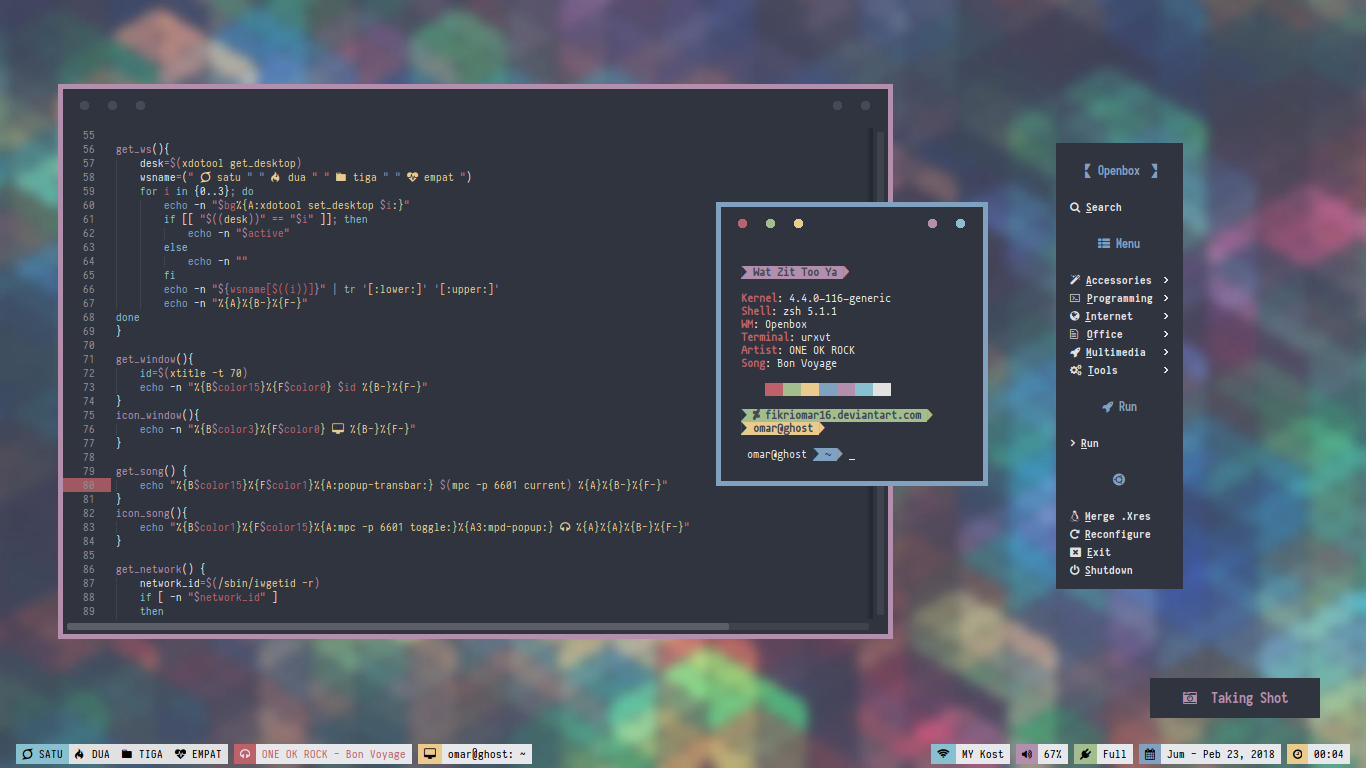 Generate Openbox Theme from  Xresources by fikriomar16 on