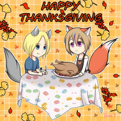 Happy Thanksgiving 2018 by Yuna-Bishie-Lover