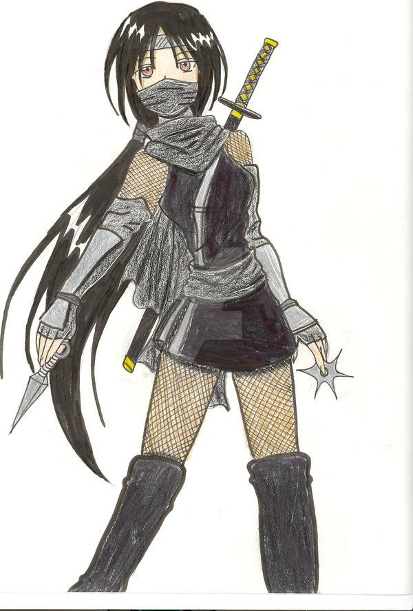 Anna the ninja by Yuna-Bishie-Lover