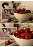 cherries polaroid