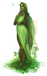 Sister Willow by justjingles
