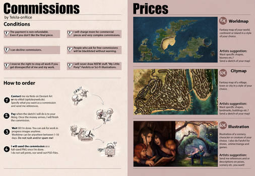 Commission Info and Prices