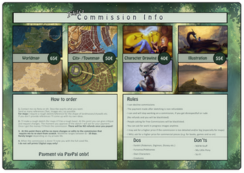 Commission Info and Prices by Tekila-onRice