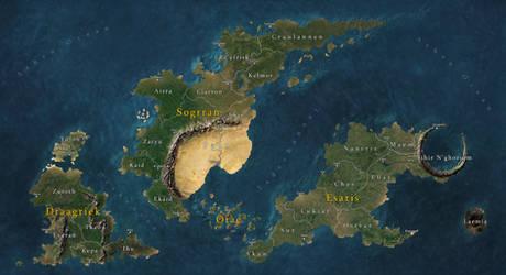 The Triplet Archipelago by Tekila-onRice