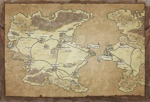 Commission: Map for Don Sullivan