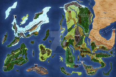 Commission: Map for Elyrien