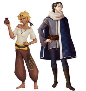 Teki and Pyrus