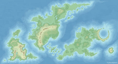 The Topography of the Triplet Archipelago