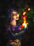 Warlock by Lyraina