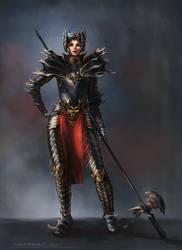Queen of Stormhaven by Lyraina