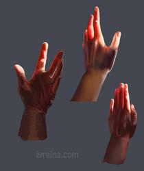 Hand Study by Lyraina