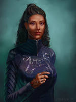 Jasnah Kholin (Stormlight Archive Series) by Lyraina