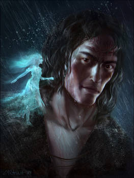 Kaladin and Syl (Stormlight Archive Series)