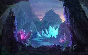 Crystal Canyon by Lyraina