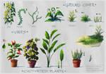 Postapocalyptic Kid's Base - Vegetation Callout