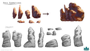 Project Oasis: Rock Formation Designs