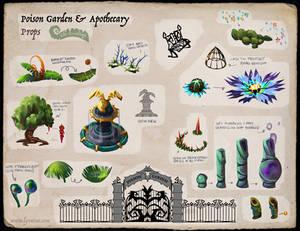 The Fernlings - Apothecary Garden (Callout Sheet)