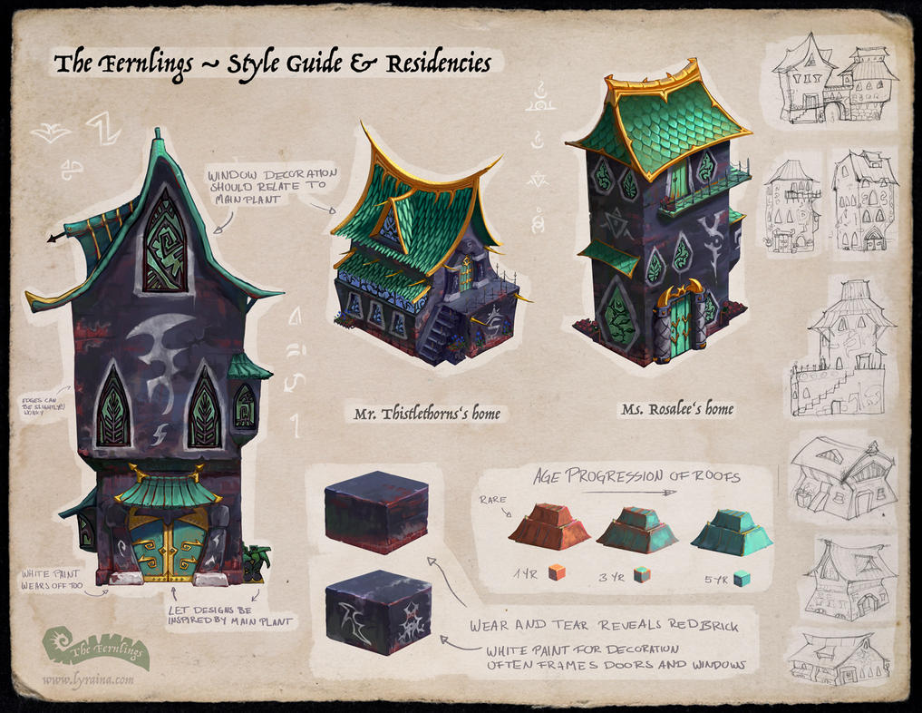 The Fernlings - Apothecary (Style Guide) by Lyraina