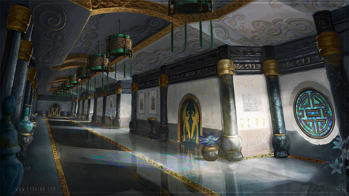 The Emperor's Soul - Imperial Wing Hallway
